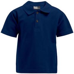Vêtements Enfant Polos manches courtes Promodoro Premium Polo Enfants bleu marine