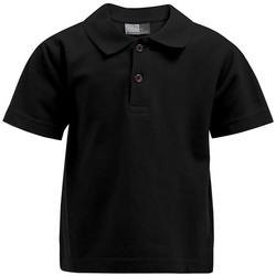 Vêtements Enfant Polos manches courtes Promodoro Premium Polo Enfants noir