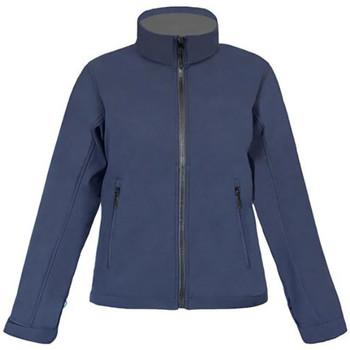 Vêtements Femme Coupes vent Promodoro Veste Softshell C+ grandes tailles Femmes bleu marine