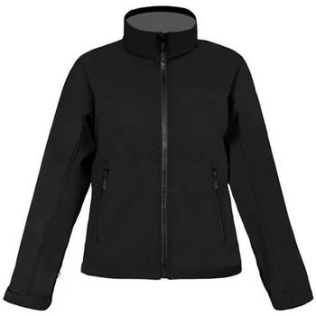 Vêtements Femme Coupes vent Promodoro Veste Softshell C+ grandes tailles Femmes noir