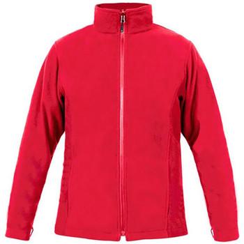 Vêtements Homme Polaires Promodoro Veste polaire C+ grandes tailles Hommes rouge feu