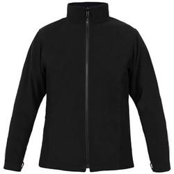 Vêtements Homme Polaires Promodoro Veste polaire C+ grandes tailles Hommes noir