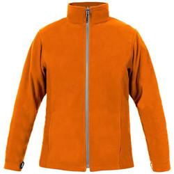 Vêtements Homme Polaires Promodoro Veste polaire C+ grandes tailles Hommes orange