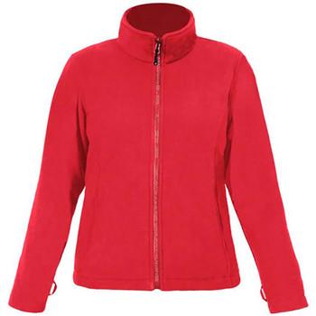 Vêtements Femme Polaires Promodoro Veste polaire C+ grandes tailles Femmes rouge feu