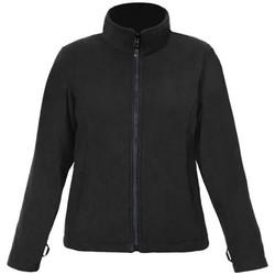 Vêtements Femme Polaires Promodoro Veste polaire C+ grandes tailles Femmes noir