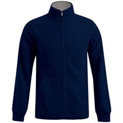 Vêtements Homme Polaires Promodoro Veste polaire doublée grandes tailles Hommes bleu marine / gris clair