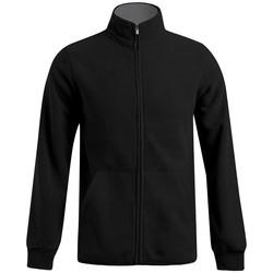 Vêtements Homme Polaires Promodoro Veste polaire doublée grandes tailles Hommes noir / gris