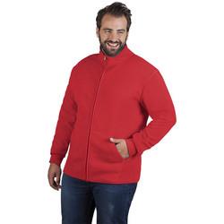 Vêtements Homme Polaires Promodoro Veste polaire doublée grandes tailles Hommes rouge feu / gris