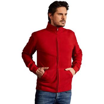 Vêtements Homme Polaires Promodoro Veste polaire doublée Hommes rouge feu / gris
