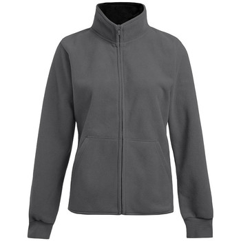 Vêtements Femme Polaires Promodoro Veste polaire doublée Femmes gris / noir