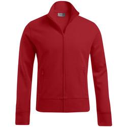 Vêtements Homme Sweats Promodoro Veste col montant Hommes rouge feu