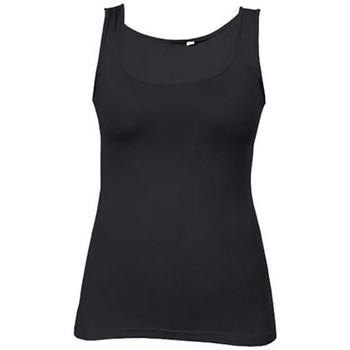Vêtements Femme Débardeurs / T-shirts sans manche Promodoro Débardeur Jersey simple Femmes noir