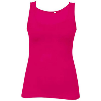 Vêtements Femme Débardeurs / T-shirts sans manche Promodoro Débardeur Jersey simple grandes tailles Femmes fushia