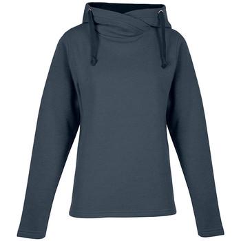 Vêtements Femme Sweats Promodoro Sweat capuche chiné 60-40 Femmes bleu chiné