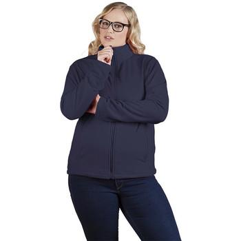 Vêtements Femme Polaires Promodoro Veste polaire C+ grandes tailles Femmes bleu marine