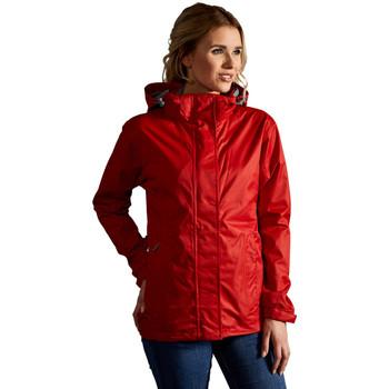 Vêtements Femme Coupes vent Promodoro Veste Performance C+ Femmes rouge feu