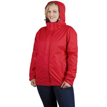 Vêtements Femme Coupes vent Promodoro Veste Performance C+ grandes tailles Femmes rouge feu