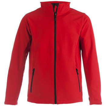 Vêtements Homme Coupes vent Promodoro Veste Softshell C+ grandes tailles Hommes rouge feu