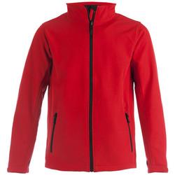 Vêtements Homme Coupes vent Promodoro Veste Softshell C+ Hommes rouge feu