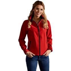 Vêtements Femme Coupes vent Promodoro Veste Softshell C+ Femmes rouge feu