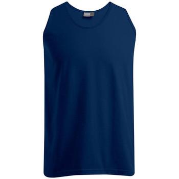 Vêtements Homme Débardeurs / T-shirts sans manche Promodoro Débardeur Athlétique grandes tailles Hommes bleu marine