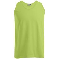 Vêtements Homme Débardeurs / T-shirts sans manche Promodoro Débardeur Athlétique grandes tailles Hommes vert lime sauvage