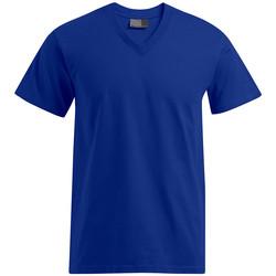 Vêtements Homme T-shirts manches courtes Promodoro T-shirt Premium col V Hommes bleu roi