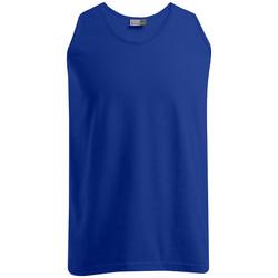 Vêtements Homme Débardeurs / T-shirts sans manche Promodoro Débardeur Athlétique Hommes bleu roi