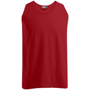 Vêtements Homme Débardeurs / T-shirts sans manche Promodoro Débardeur Athlétique grandes tailles Hommes rouge feu