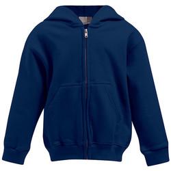 Vêtements Enfant Sweats Promodoro Veste à capuche Enfants bleu marine