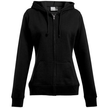 Vêtements Femme Sweats Promodoro Veste sweat capuche zippée 80-20 grandes tailles Femmes noir