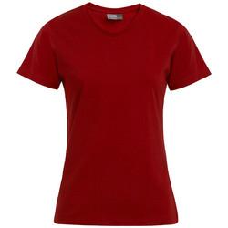 Vêtements Femme T-shirts manches courtes Promodoro T-shirt Premium grandes tailles Femmes rouge feu