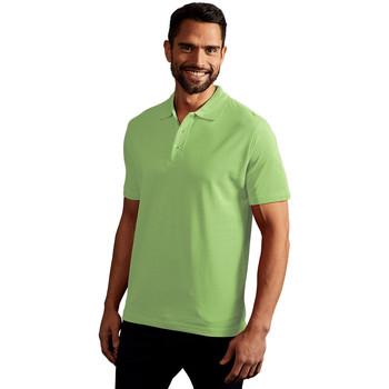 Vêtements Homme Polos manches courtes Promodoro Polo supérieur Hommes vert lime sauvage
