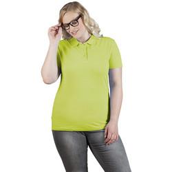 Vêtements Femme Polos manches courtes Promodoro Polo supérieur grandes tailles Femmes vert lime sauvage