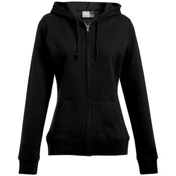 Vêtements Femme Sweats Promodoro Veste sweat capuche zippée 80-20 Femmes noir