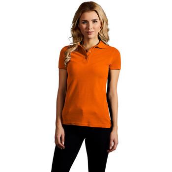 Vêtements Femme Polos manches courtes Promodoro Polo supérieur Femmes orange