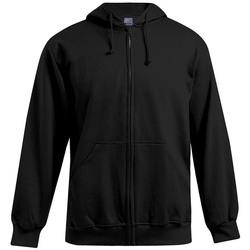 Vêtements Homme Sweats Promodoro Veste sweat capuche zippée 80-20 grandes tailles Hommes noir