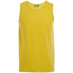 Vêtements Homme Débardeurs / T-shirts sans manche Promodoro Débardeur Athlétique grandes tailles Hommes or