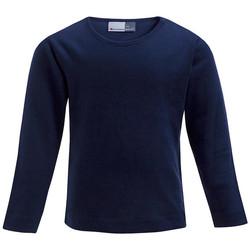 Vêtements Enfant T-shirts manches longues Promodoro T-shirt Manches Longues Enfants bleu marine
