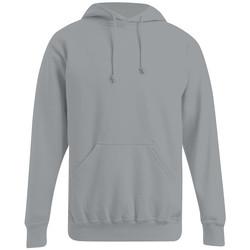 Vêtements Homme Sweats Promodoro Sweat capuche basic 80-20 grandes tailles Hommes gris foncé-mélange