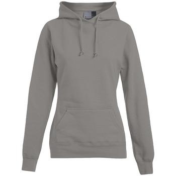 Vêtements Femme Sweats Promodoro Sweat capuche basic 80-20 grandes tailles Femmes gris