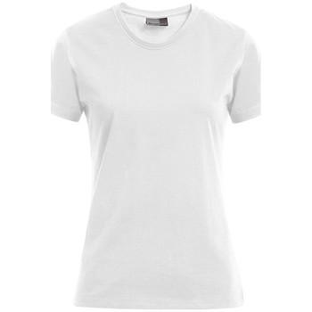 Vêtements Femme T-shirts manches courtes Promodoro T-shirt Premium grandes tailles Femmes blanc
