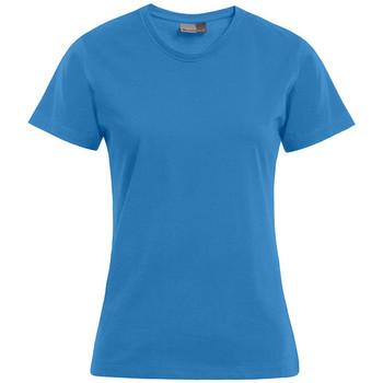 Vêtements Femme T-shirts manches courtes Promodoro T-shirt Premium Femmes turquoise
