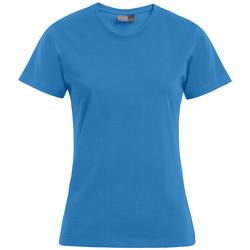 Vêtements Femme T-shirts manches courtes Promodoro T-shirt Premium grandes tailles Femmes turquoise