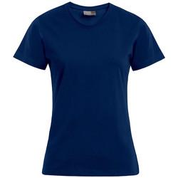 Vêtements Femme T-shirts manches courtes Promodoro T-shirt Premium grandes tailles Femmes bleu marine