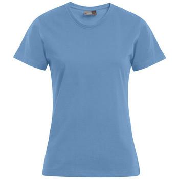 Vêtements Femme T-shirts manches courtes Promodoro T-shirt Premium Femmes bleu ciel
