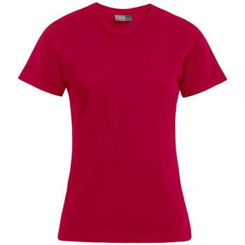 Vêtements Femme T-shirts manches courtes Promodoro T-shirt Premium Femmes rouge cerise