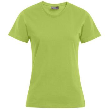Vêtements Femme T-shirts manches courtes Promodoro T-shirt Premium Femmes vert lime sauvage