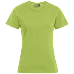 Vêtements Femme T-shirts manches courtes Promodoro T-shirt Premium grandes tailles Femmes vert lime sauvage