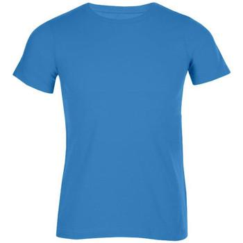Vêtements Homme T-shirts manches courtes Promodoro T-shirt bio hommes turquoise